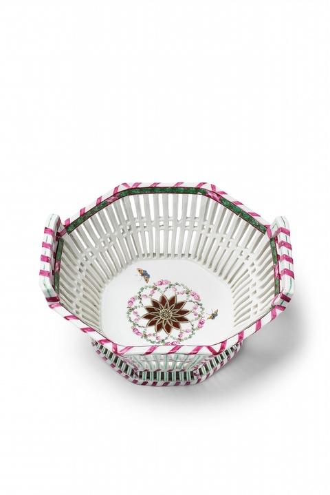 Korb aus dem Dessertservice für Kronprinz Friedrich Wilhelm -