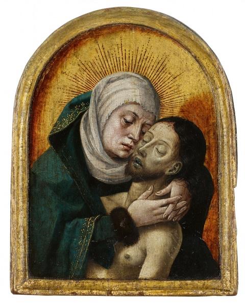 Netherlandish School circa 1440/1450 - Pietà