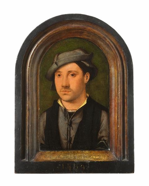 Joos van Cleve - Portrait of a Young Man
