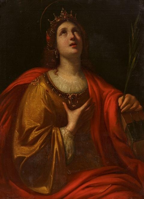 Bologneser Meister des 17. Jahrhunderts - Heilige Katharina