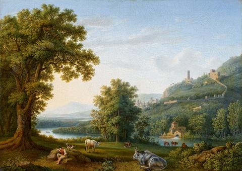 Jacob Philipp Hackert - Ansicht von Maddaloni
