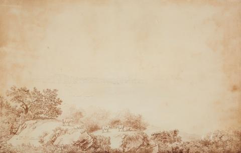 Jacob Philipp Hackert - Ansicht auf Capri und Procida im Golf von Neapel