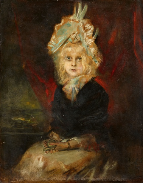 Franz Seraph von Lenbach - Portrait der Marion Lenbach