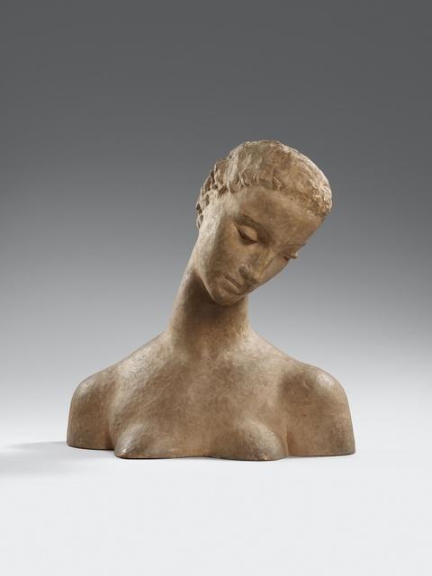 Wilhelm Lehmbruck - Büste der Knienden (Geneigter Frauenkopf)