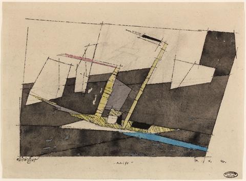 Lyonel Feininger - Adrift
