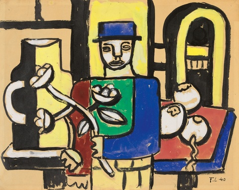 Fernand Léger - L'homme au chandail
