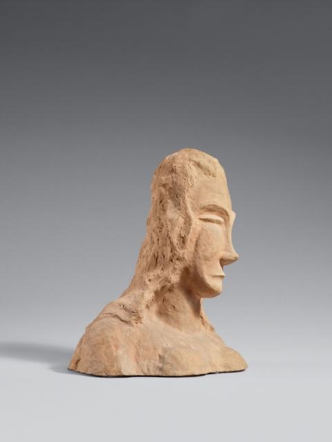 Franz Wilhelm Seiwert - Frauenbüste mit nach links geneigtem Kopf