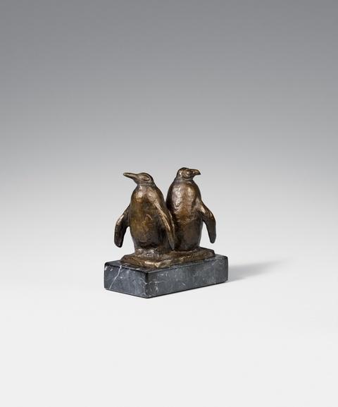 August Gaul - Zwei Pinguine