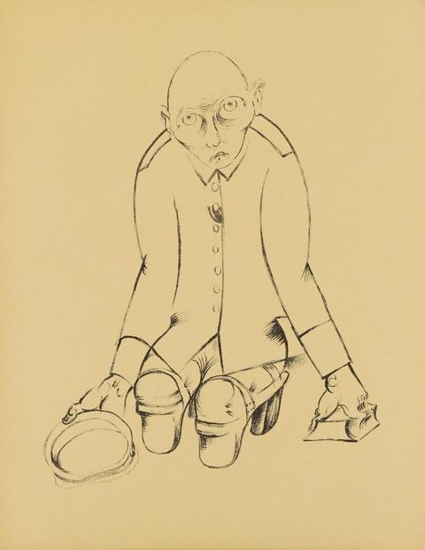 Heinrich Hoerle - Krüppel (Die Krüppelmappe)