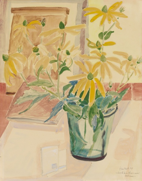 Erich Heckel - Helianthemum-Blüten