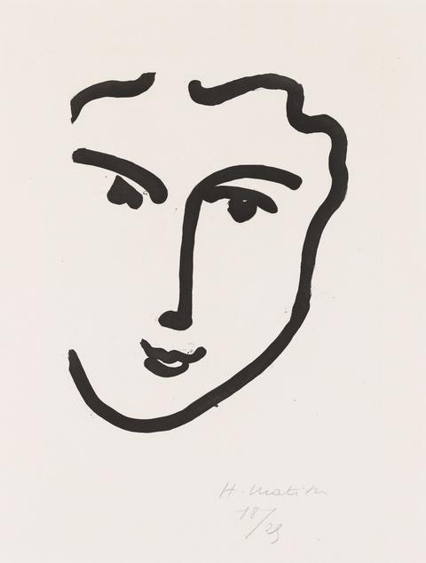 Henri Matisse - Nadia au sourire enjoué