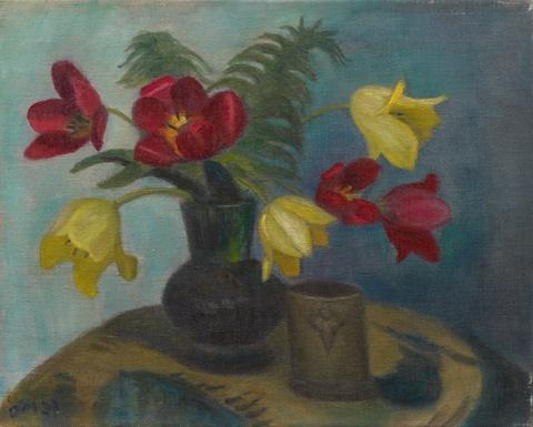 Otto Modersohn - Tulpen