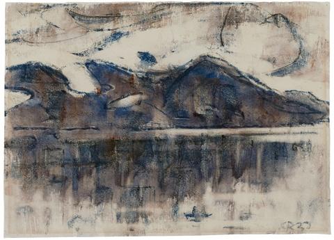 Christian Rohlfs - Am Lago Maggiore