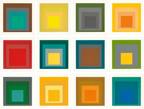 Josef Albers - SP (Homage to the Square)
