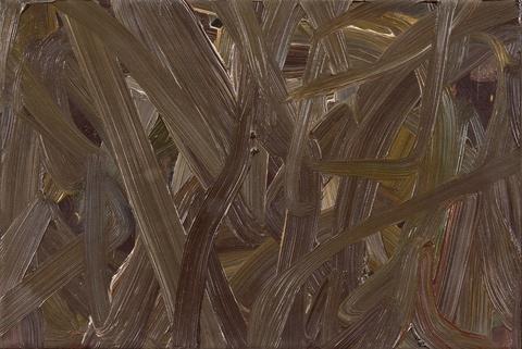 Gerhard Richter - Vermalung (Braun)