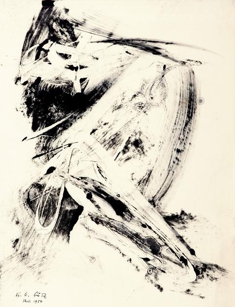 Karl Otto Götz - Untitled