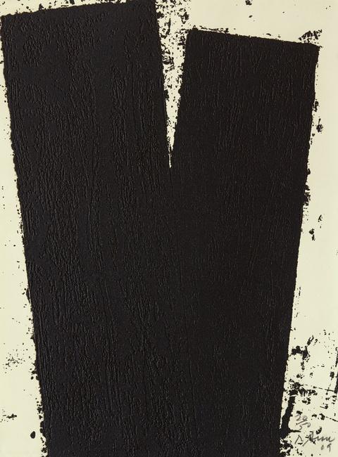 Richard Serra - Promenade Notebook Drawing IV