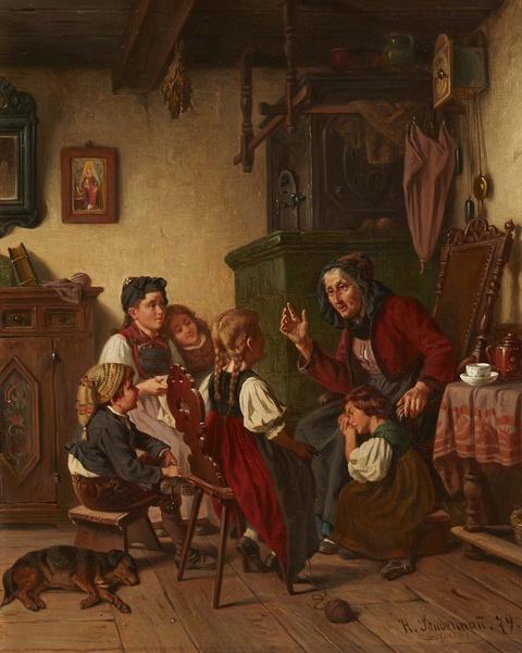 Hermann Sondermann - Großmutter erzählt