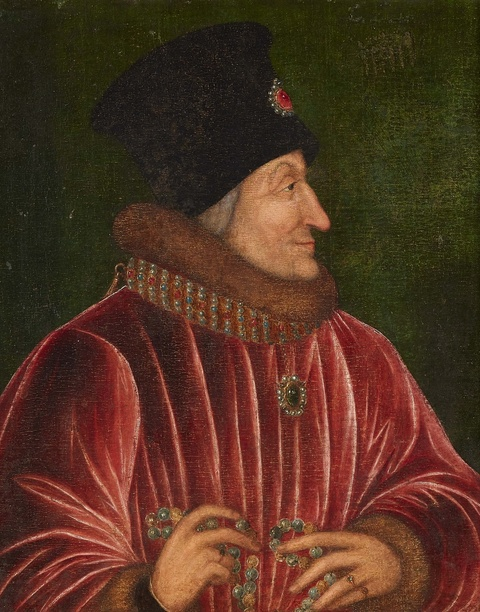 Probably French School 16th century - Portrait of a Man