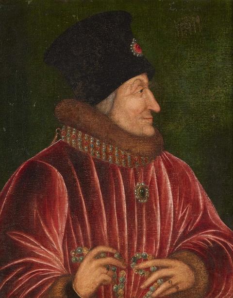 Wohl Französischer Meister des 16. Jahrhunderts - Bildnis eines Mannes