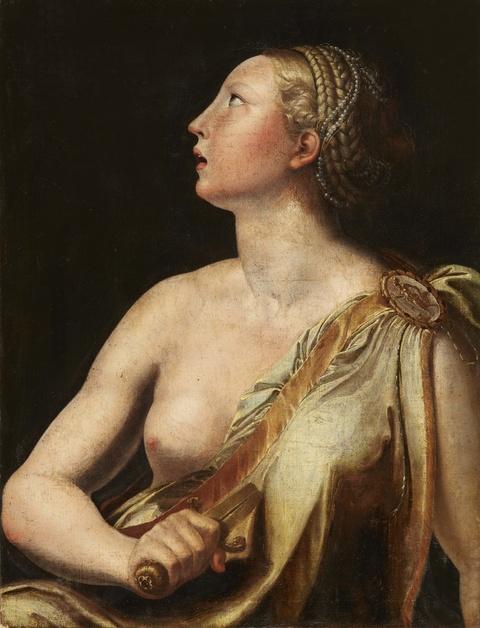 Italienischer Meister des 16. Jahrhunderts - Lukretia