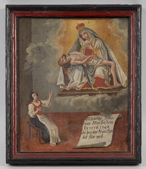Süddeutscher Meister des 18. Jahrhunderts - Votivbild
