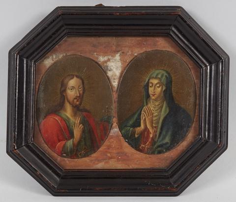 Wohl Deutscher Künstler des 19. Jahrhunderts - Jesus Christus Jungfrau Maria