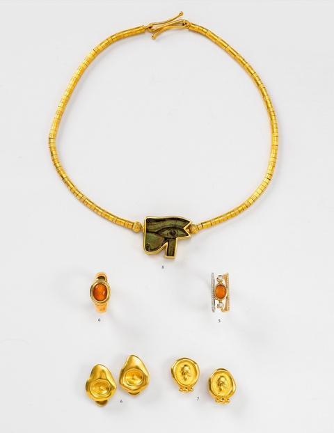Ring mit römischer Gemme -