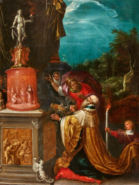 Frans Francken the Younger - King Solomon's Idolatry