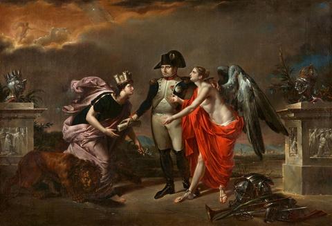 Italienischer Meister um 1806 - Napoleon als Sieger von Austerlitz