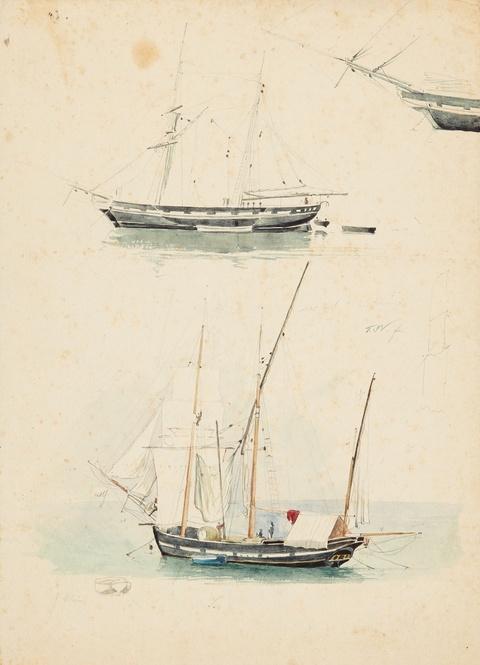 Friedrich Nerly - Schiffsstudien