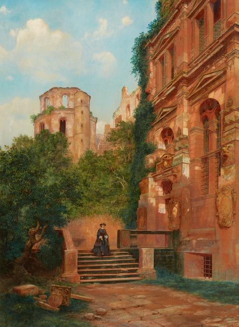 Edward Allen Schmidt - A Rambler by Heidelberg Palace