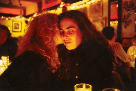 Nan Goldin - Lynette and Donna at Marion's restaurant, NYC