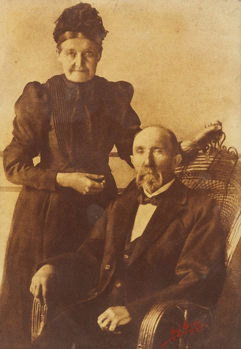 August Sander - Karl und Ida Ermert, Herdorf