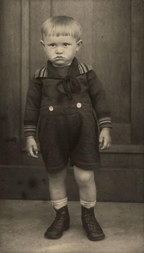 August Sander - Portrait eines Jungen