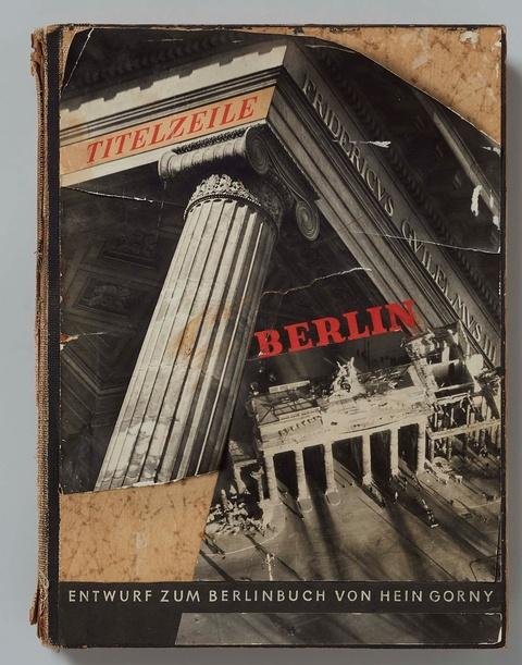 Hein Gorny - Entwurf zum Berlinbuch