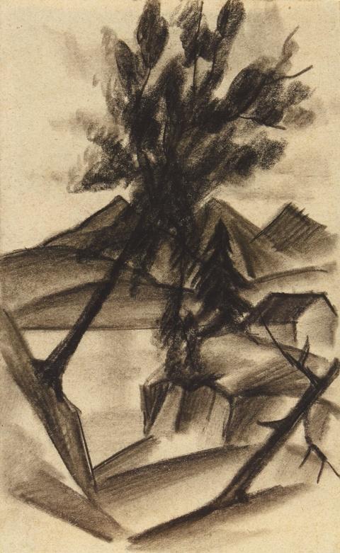 August Macke - Am Thuner See