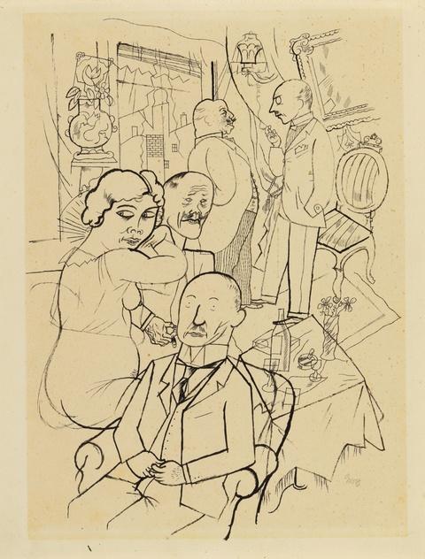 George Grosz - Berliner Salon