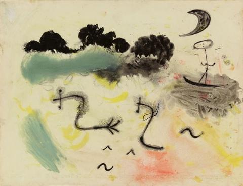 Joan Miró - Souvenir du Parc de Montsouris