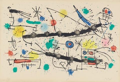 Joan Miró - Le grand jardin