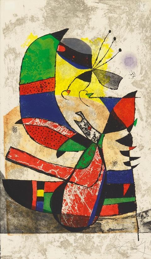 Joan Miró - Gaudi I