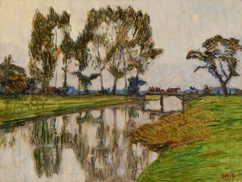Otto Modersohn - Flusslandschaft