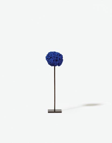 Yves Klein - Untitled blue sponge sculpture (SE 324)