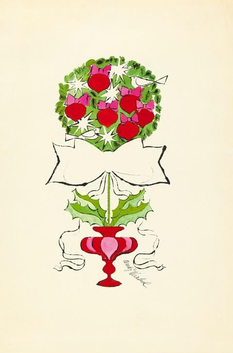 Andy Warhol - Christmas Topiary