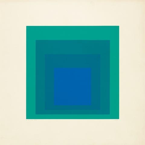 Josef Albers - EK IA (Aus: Homage to the Square)