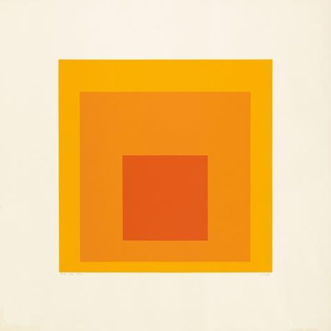 Josef Albers - EK IE (Aus: Homage to the Square)