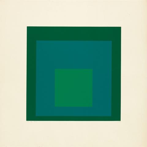 Josef Albers - EK IF (Aus: Homage to the Square)