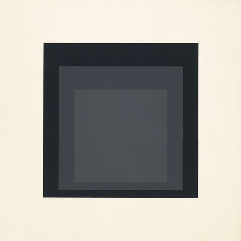 Josef Albers - EK II (Aus: Homage to the Square)