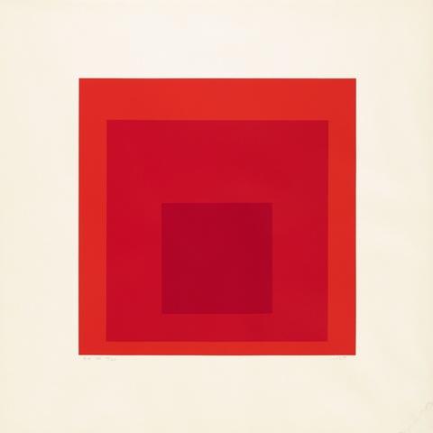 Josef Albers - EK IK (Aus: Homage to the Square)