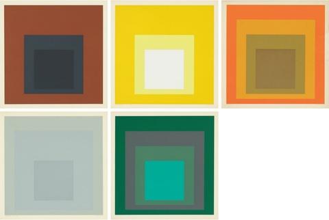 Josef Albers - Die Oberfläche